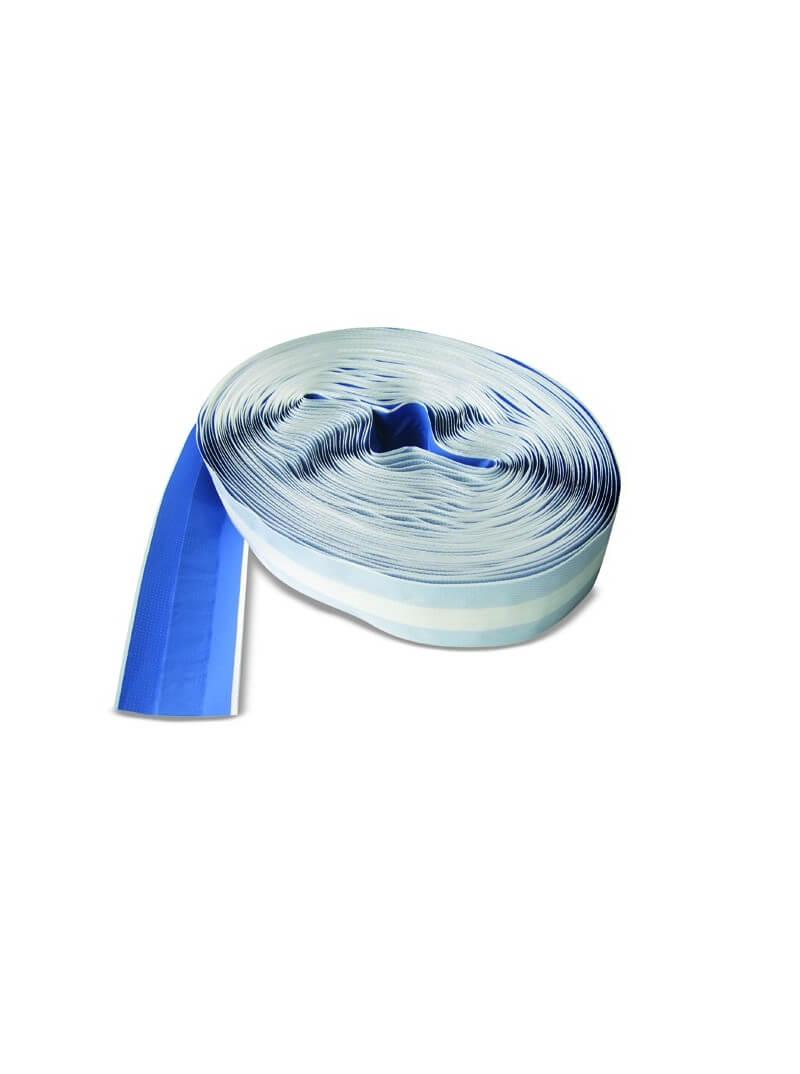Pansement plastique bleu en bande 25mx6cm