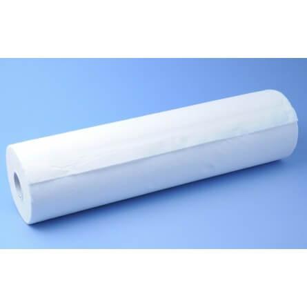 Carton de 9 rouleaux de draps d'examen double épaisseur gaufré blanc 50x40cm Ecolabel