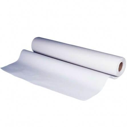 Drap d'examen double épaisseur lisse blanc 60x35cm