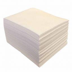 Sachet de 50 Carrés gaufrés blanc 29x35cm