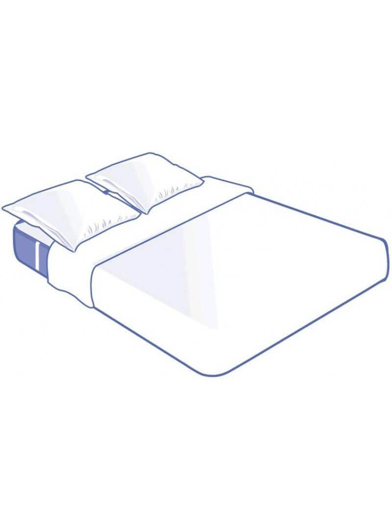 Kit literie jetable complet plateau pour lit 2 places 140x190cm
