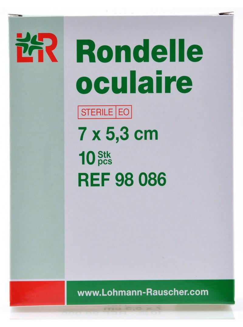 Compresses ophtalmologiques 60 mm