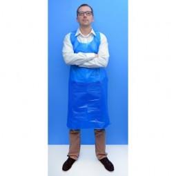 Tablier jetable bleu 145x81 70µm 2
