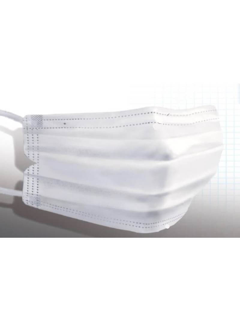 Masque Chirurgical PP Type II Blanc (50 pcs)