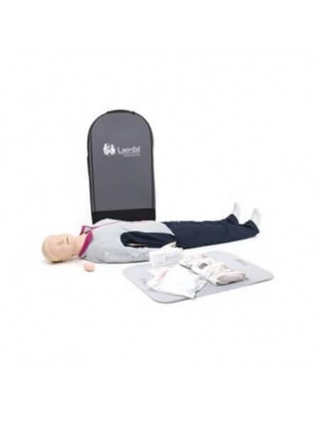 Mannequin Resusci Anne First Aid corps entier LAERDAL avec valise