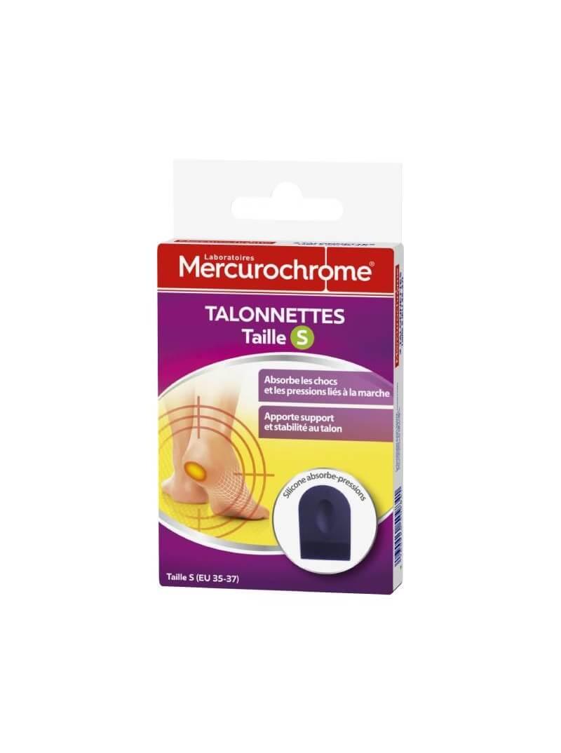 Boite de deux talonnettes Mercurochrome
