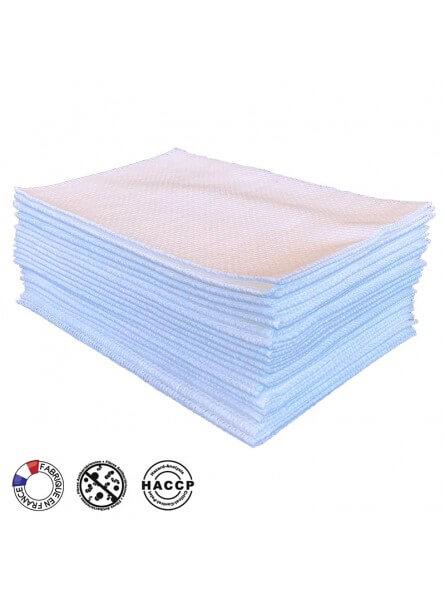 Sachet de 25 lavettes BioTiss blanches