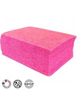 Sachet de 25 lavettes BioTiss rouges