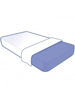 Drap Jetable 100x220 cm pour lit 1 place BIODERM, mise en situation