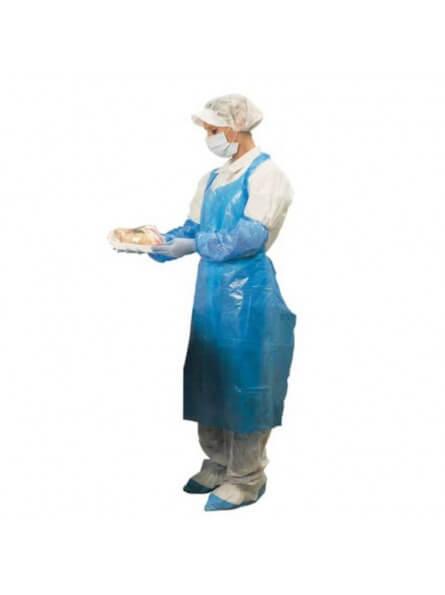 Tabliers Jetables Bleus 120x70 cm 35µ