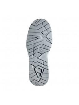 Chaussure velours microfibre S3 CURTIS FLEX noir semelle