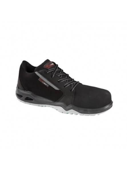 Chaussure velours microfibre S3 CURTIS FLEX noir