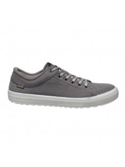 Chaussure toile embout acier S1P VALLEY gris