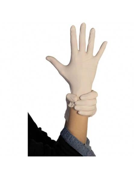 Paire de gants latex poudrés T.M