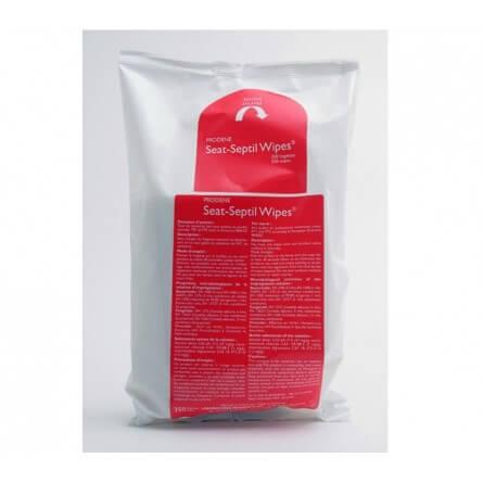 Recharge de lingettes SEAT SEPTIL antiseptiques et désinfectantes pour toilette