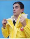 Combinaison Tychem C Standard jaune T L avec chaussettes