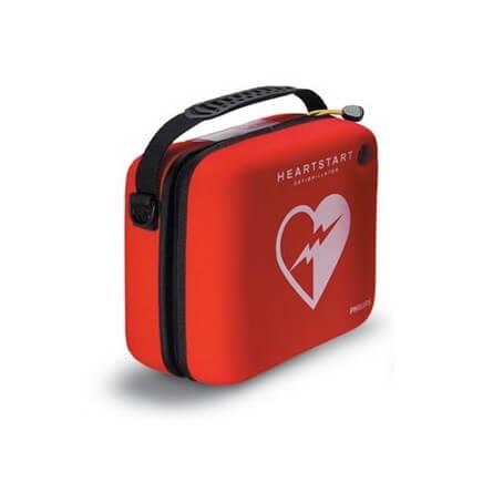 Housse Standard pour défibrillateur Heartstart HS1 LAERDAL rouge