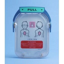 Cartouche avec 2 électrodes adultes pour défibrillateur LAERDAL HeartStart HS1