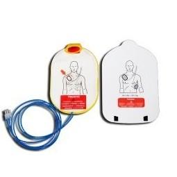 Paire de recharges électrodes formation Défibrillateur HeartStart HS1 LAERDAL