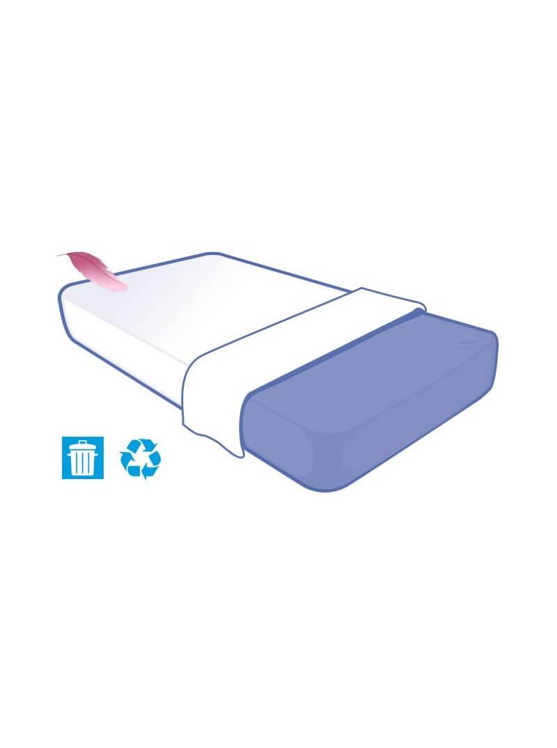 Drap jetable 230x150cm SOFT TOUCH pour lit 1 place (prorisk)