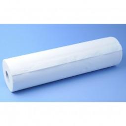 Drap d'examen double épaisseur gaufré blanc 60x40cm Ecolabel