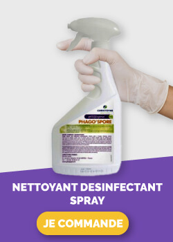 nettoyant desinfectant spray
