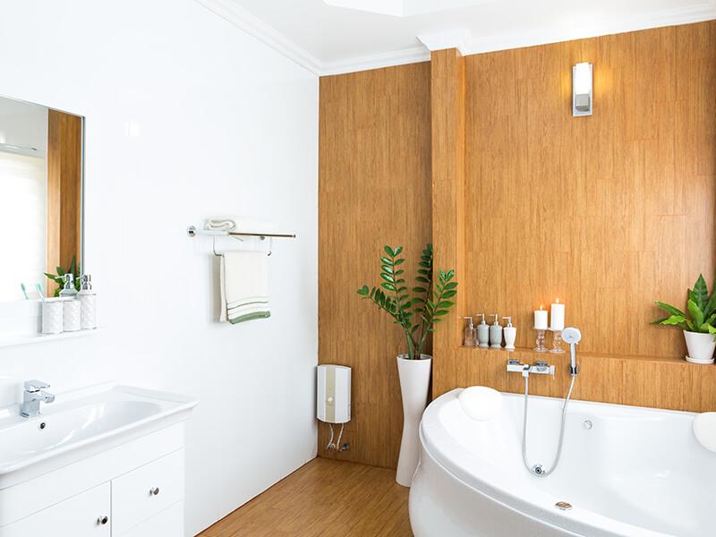 salle de bain d'hotel